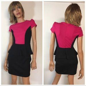 Kensie Peplum Dress